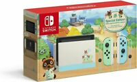 Nintendo Switch Animal Crossing: New Horizon Special Edition Console