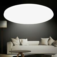 24W LED Ceiling Light Ultra-Thin Flush Mount Kitchen Round Panel Home Fixture US
