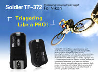 Pixel TF-372 Soldier Grouping Flash Trigger for Nikon D7500 D7200 D7100 D5300