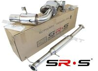 SRS STAINLESS STEEL CATBACK EXHAUST SYSTEM FOR 90-97 MAZDA MIATA