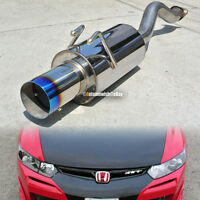 Fit: 06-10 Civic 2/4 DR Stainless Steel Axle back Exhaust Muffler 4