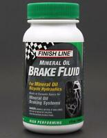 Finish Line Mineral Oil 4oz Bike Hydraulic Disc Brake Fluid for Shimano/Magura