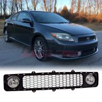 For 2005-2010 Scion tC PAIR OE Factory Fit Fog Light Grill Kit Clear Lens