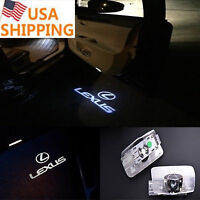 pair LED Car Courtesy Step Projector Logo Shadow Lights For LS RX GX LX IS