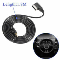 1.8M Music Interface AMI MMI to 3.5mm Audio AUX Cable Adapter For Audi A5 Q5 Q7