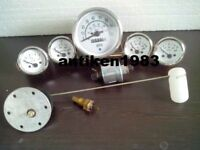 Gauges Kit- 85 mm Speedometer Elec Temp Oil Fuel Volt Senders/ Sending unit
