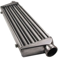 UNIVERSAL TURBO FRONT MOUNT ALUMINUM INTERCOOLER 27'' x 7'' x2.5'' Tube