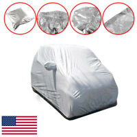 1X Car Auto Body Film Rain Waterproof Cover Shield Bag For Benz Smart Fortwo US