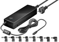 150 W Notebook-Netzteil 12-24 V bis max. 8,5 A inkl. USB + 8 DC-Adaptern 188 mm