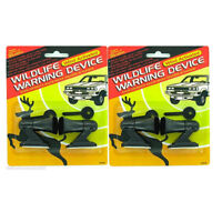 4 Ultrasonic Car Deer Warning Whistles 2 Packs Auto Safety Alert Device Safety !