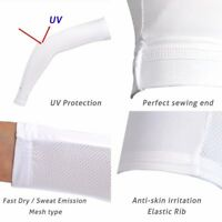 Compression Arm Sleeve for Men Women Youth Kids UV Sun Protection Mesh Tactel 1