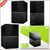 20TB WD My Book Duo RAID Desktop External Hard Drive w/ Auto and System Backup