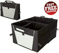Collapsible Car Trunk Organizer Rear Storage Box Foldable Auto Cargo Bag VAN SUV