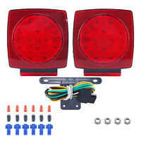 24 LED 12V Warning Emergency Vehicle Truck Snow Plow Safety Top Strobe Light US