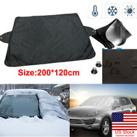 US Car Windshield Cover Anti-shade Frost Ice Snow Protecting UV Fading Car Cover