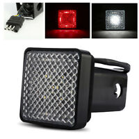 LED SUV/4x4/Pickup/Truck Trailer Tow Hitch Cover Light w/ Running/Brake/Reverse