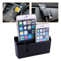 Cars Accessories Phone Organizer Box Bag Holder W/ Charging Hole Easy to Charge