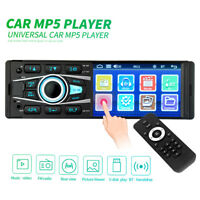 "Single Din Touch Screen Car Stereo 4.1"" HD MP5 Player In-dash Bluetooth Radio"
