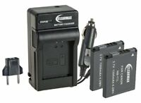 ClearMax 2 Battery and Charger Kit for Canon NB-11L and Canon PowerShot A2300 ..
