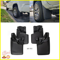 FOR 2016 2017 2018 2019 TOYOTA TACOMA 4PCS MUD GUARDS FLAPS W/ OEM FENDER ONLY