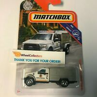'10 Ford Animal Control Truck * White *  2019 Matchbox Case M