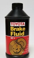 GENUINE DOT 3 Brake Fluid 12 fl. oz  00475-1BF03 for Toyota Lexus Scion