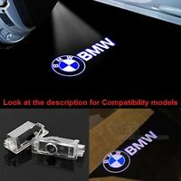 Unique BMW Logo Car Door 2P LED Light Projector Easy Install Emblem Ghost Shadow