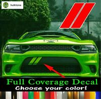 Dodge Charger Hash Marks Front Bumper Decal Daytona Scat Pack 392 2015-2019