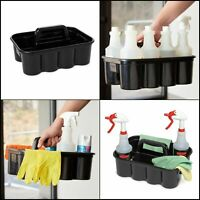New Carry Caddy Cleaning Tool House Keeping Cart Household Storage Supply Black