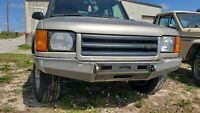 Land Rover Discovery II Front steel winch Bumper Custom