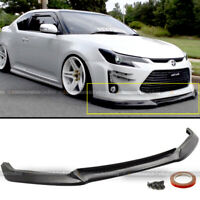 For 14 15 16 Scion TC JDM Sport GT Style PU Front Bumper Lip Spoiler Body Kit