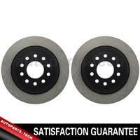 2x Centric Parts Rear Disc Brake Rotor For Lincoln Town Car 2003~2011