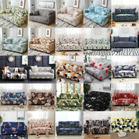Stretch Sofa Cover 1 2 3 4 Seater Elastic Tight Wrap Slipcover Couch Protector