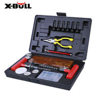 X-BULL Tire Repair Kit Tools 100PC DIY Plug Flat Punctured For Car Truck ATV