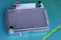 Aluminum Radiator Fit MG MGA 1500, 1600, 1622, DE LUXE 1955-1962 Engine Cooler