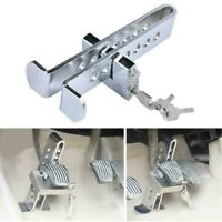 Brake Pedal Lock Security Car Stainless Steel Clutch Lock Anti-theft Safe Device