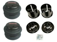 Front Air Ride Suspension Kit w/2600 Air Bags & Mounting Cups For 65-70 Cadillac