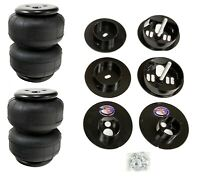 Rear Air Ride Suspension Kit w/D2500 Air Bags & Mounting Cups For 65-70 Cadillac