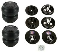 Rear Air Ride Suspension w/Slam SS7 Air Bags & Mounting Cups For 65-70 Cadillac