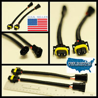 H11 H8 Wiring Harness Socket Wire Connector Plug extension cable HID Halogen LED