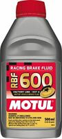 Motul RBF 600 Factory Line DOT 4 Racing Brake Fluid Fully Synthetic 500mL Bottle