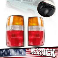 Fits 89-93 TOYOTA HILUX PICKUP SR5 MK3 LN RN YN 2WD 4WD TAIL LAMP LIGHT REAR USA