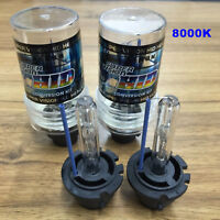 8000K D2S D2R D2C HID Xenon Bulbs Replace Factory Headlight One Pair Replacement