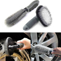 2Pcs For Auto Motorcycle Wheel Tire Rim Hub Cleaning Brush Wash Scrub Tools Best