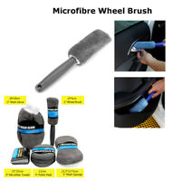 Superfine Fiber Car Wash Cleaning Kit Sponge Wash Glove Wheel Brush Polish Pad