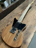 NEW TELE STYLE 12 STRING NATURAL SEMI-HOLLOW MAPLE TOP ELECTRIC GUITAR