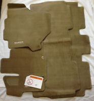 Nissan OEM Quest Beige Carpeted Floor Mats Front & Rear Set of 4 999E2-NT000BE