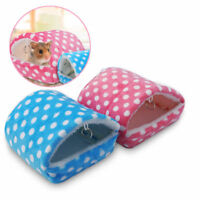 cute small animal bed cave warm nest house hamster guinea pig squirrel hedgehog
