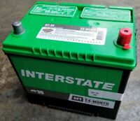 Car Battery-Mt INTERSTATE MT-35 Vehicle Starting Battery