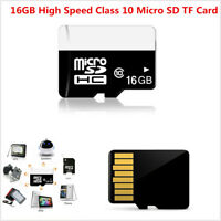 16GB High Speed Class 10 Micro SD Flash Memory Card For Phone Camera Car DVR GPS